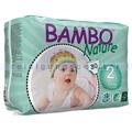 Babywindeln Abena BAMBO Nature Windeln Mini Größe 2