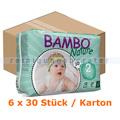 Babywindeln Abena BAMBO Nature Windeln Mini Größe 2 Karton