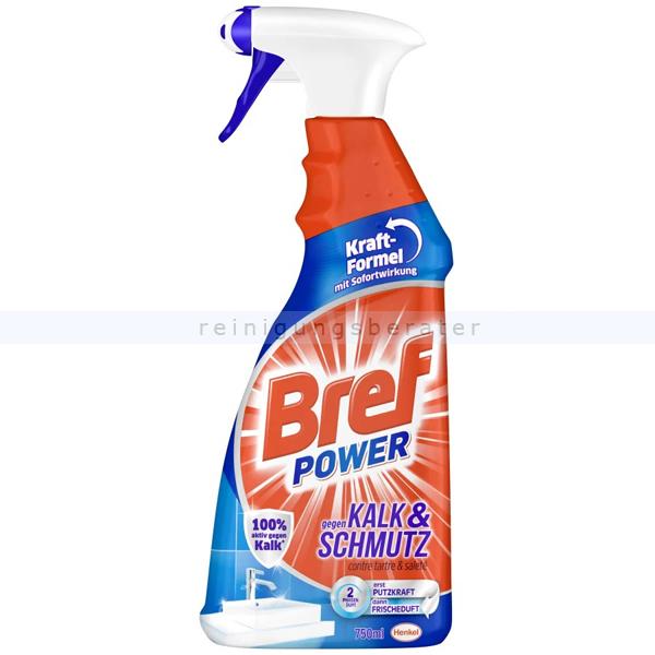 Badreiniger Bref power Spray 750 ml gegen Kalk und Schmutz