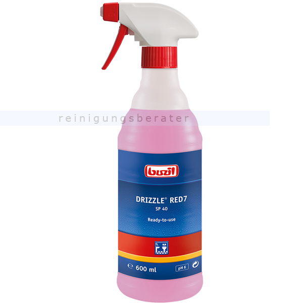 Badreiniger Buzil SP40 Drizzle Red7 600 ml