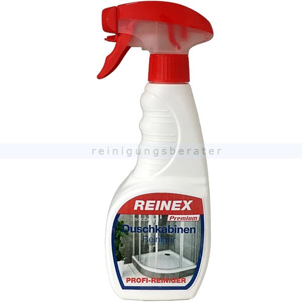 Badreiniger Reinex PREMIUM Duschkabinen Reiniger 500 ml premium Reiniger und Flasche mit Sprühpistole 512