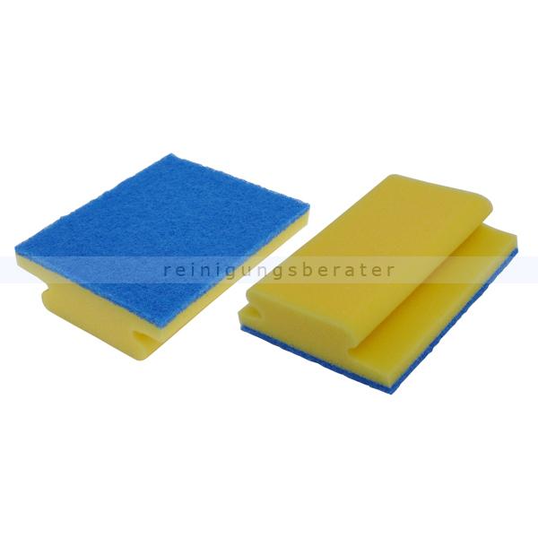 Badschwamm Sito Bäderschwamm XXL gelb/blau, nicht kratzend 5020113