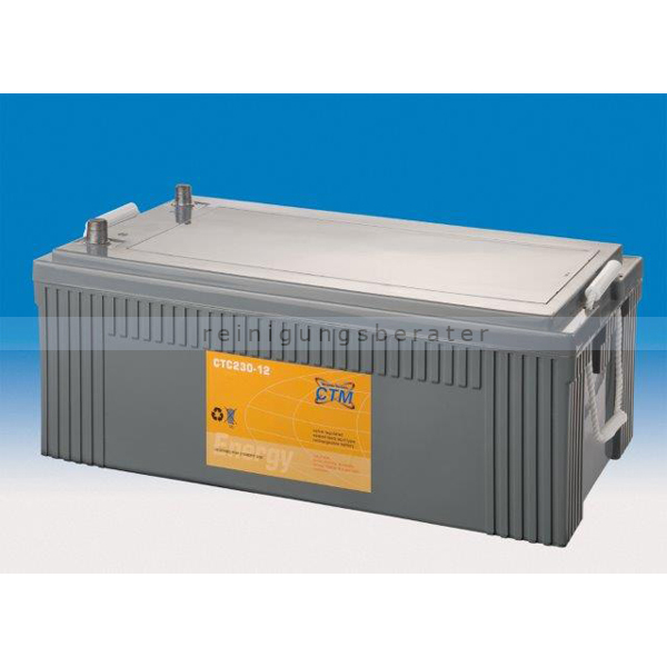 Batterie CTM Gel-Batterie CTC 230-12 Konuspol