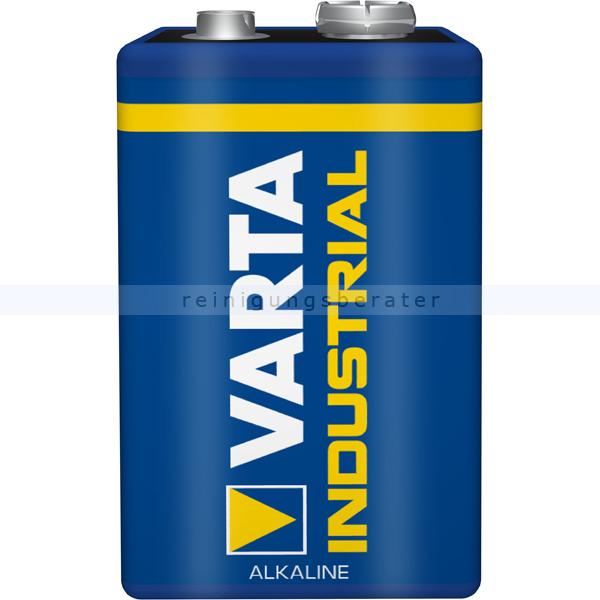 Batterie VARTA Industrial 9V Block Alkaline MN1604/6LR61