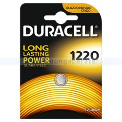Batterien Duracell Knopfzelle DL/BR/CR 1220