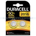 Batterien Duracell Knopfzelle DL/CR 2016