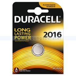 Batterien Duracell Knopfzelle DL/CR/BR 2016
