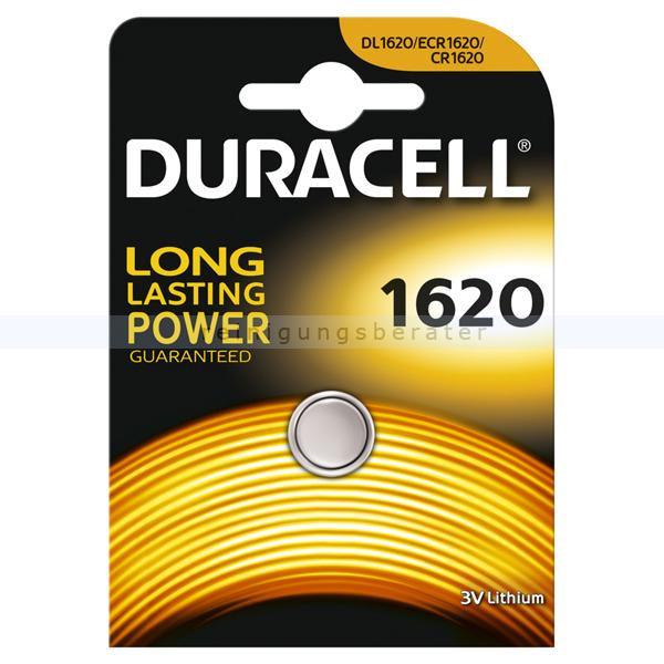 Batterien Duracell Knopfzelle DL/ECR/CR 1620