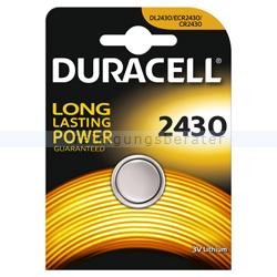 Batterien Duracell Knopfzelle DL/ECR/CR 2430