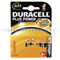 Batterien Duracell Plus Power AAA MN2400/LR03,BPH8