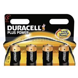 Batterien Duracell Plus Power C MN1400/LR14, K4