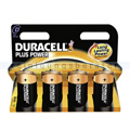 Batterien Duracell Plus Power D MN1300/LR20, K4