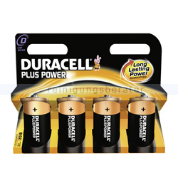 Batterien Duracell Plus Power D MN1300/LR20, K4