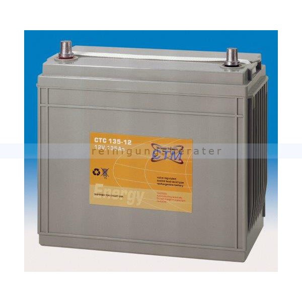 Batterien und Ladegeräte CTM Gel Batterie CTC 135-12 Gewinde