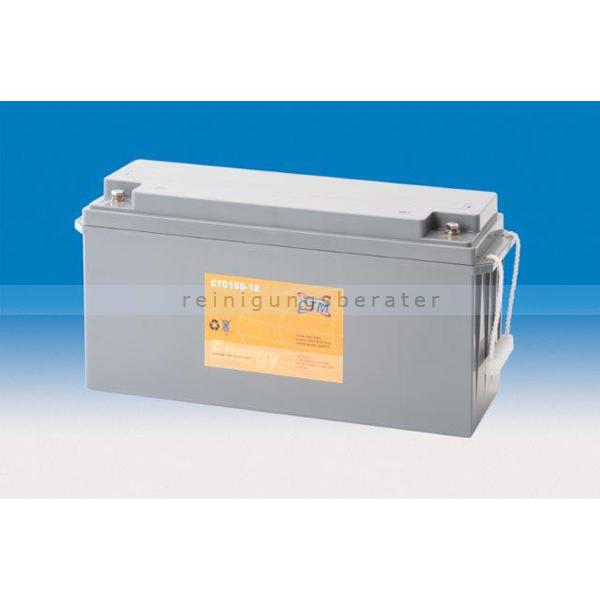 CTM GmbH CTM Blei-Gel Batterie CTC 150-12 Gewinde wartungsfrei, Spannung 12 V, Kapazität C5 130 Ah
