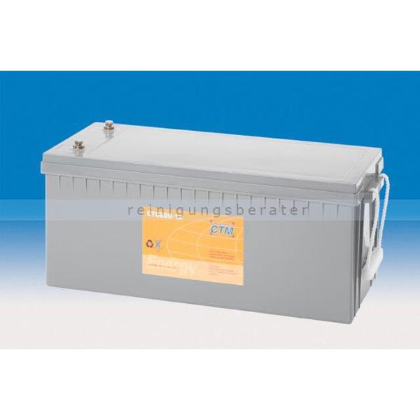 CTM GmbH CTM Blei-Gel Batterie CTC 200-12 Gewinde wartungsfrei, Spannung 12 V, Kapazität C5 205 Ah