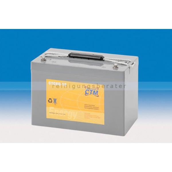 CTM GmbH CTM Blei-Gel Batterie CTC 60-12 Gewinde wartungsfrei, Spannung 12 V, Kapazität C5 55 Ah