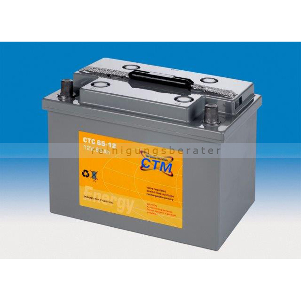 Batterien und Ladegeräte CTM Gel Batterie CTC 65-12 Konuspol
