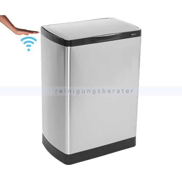 sensoreimer easybin silverflatline 30 l. Black Bedroom Furniture Sets. Home Design Ideas