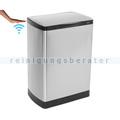 berührungsloser Sensor Mülleimer Easybin SilverFlatline 40 L