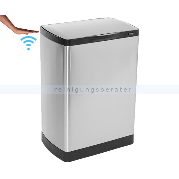 sensoreimer easybin silverflatline 40 l. Black Bedroom Furniture Sets. Home Design Ideas