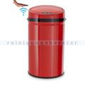 berührungsloser Sensor Mülleimer Echtwerk rot 30 L