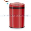 berührungsloser Sensor Mülleimer Echtwerk rot 9 L