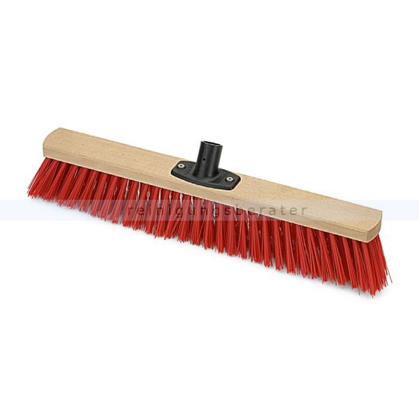 Nölle Saalbesen Elaston mit Power Stick 60 cm Kehrbesen mit Stielhalter für alle gängigen Holzstiele
