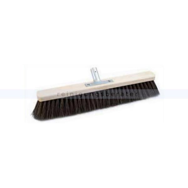 Sorex Saalbesen Arenga mit Metallhalter 80 cm Besen Kehrbesen mit Metallstielhalter Power Stick 24 mm 28714
