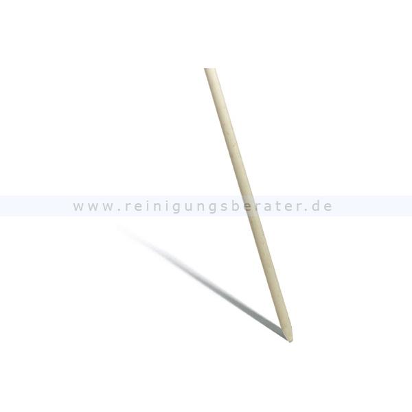Holzstiel Nölle 1500-28 mm Holzstiel mit Konus für alle Besen mit Loch, unlackiert