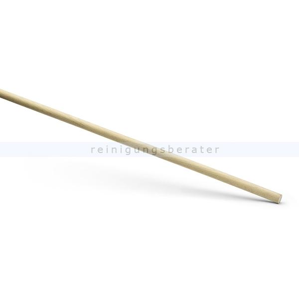 Holzstiel Nölle 1600-28 mm Holzstiel ohne Konus für alle Besen mit Loch, unlackiert