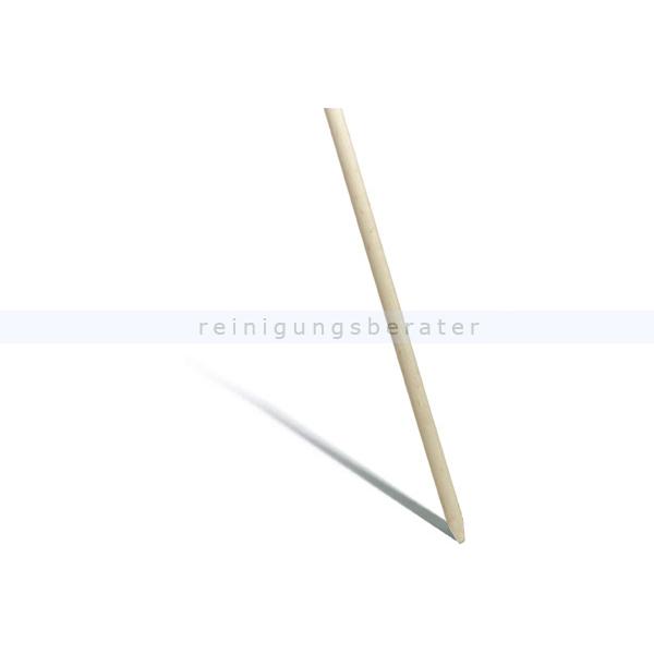 Holzstiel Nölle 1800-28 mm Holzstiel mit Konus für alle Besen mit Loch, unlackiert
