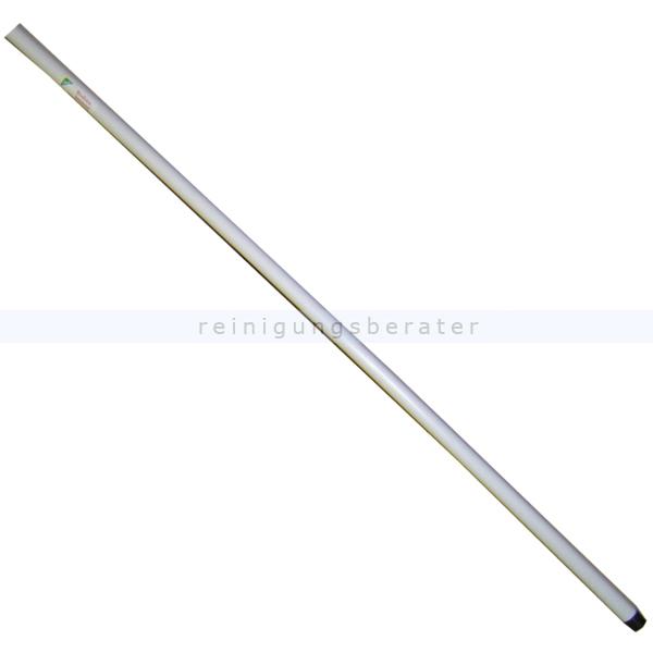 Metallstiel Nölle weiß 1400 mm Metallstiel mit Gewinde 00451802