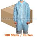 Besucherkittel MaiMed Coat V hellblau XL 100 Stück Karton