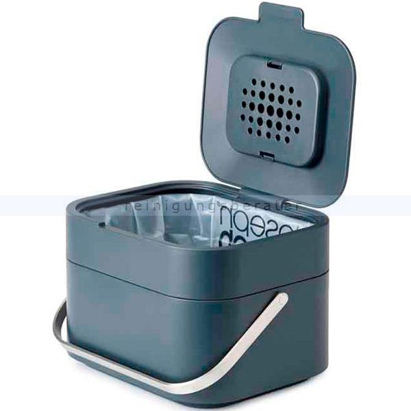 Bio Abfalleimer Intelligent Waste Stack Bioeimer graphit 4 L