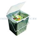 Bio Abfalleimer NaturaBiomat 8 L grün