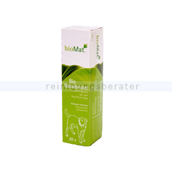Bio Hundekotbeutel Natura Biomat Faltschachtel 20 Stück grün