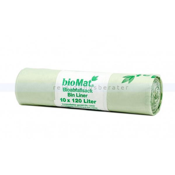 Bio Müllbeutel Natura Biomat kompostierbar 120/140 L