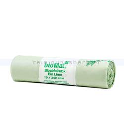 Bio Müllbeutel Natura Biomat kompostierbar 240 L