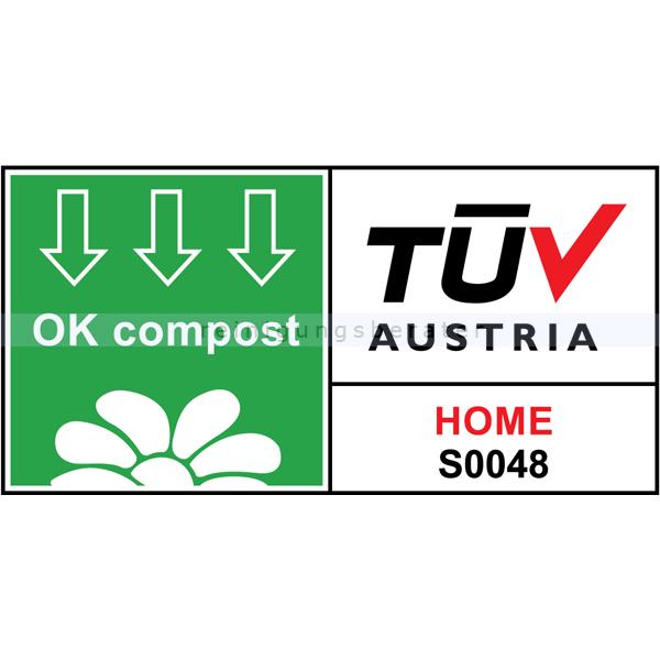 bio m llbeutel naturabiomat mit henkel kompostierbar 10 12 l. Black Bedroom Furniture Sets. Home Design Ideas