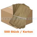Bio Papierbeutel Natura Biomat kompostierbar 10 L KARTON