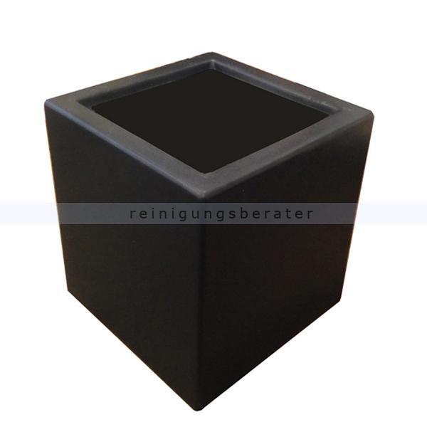 Bodenaschenbecher The DropPit Kunststoffsockel schwarz