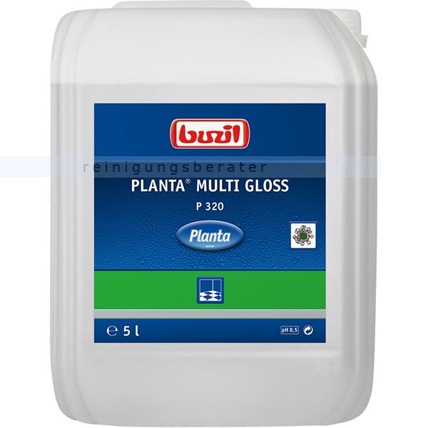 Buzil Planta Multi Gloss 5 L, Bodenbeschichtung ökologisch ökologische Bodenbeschichtung, Dispersion glänzend P320-0005R1