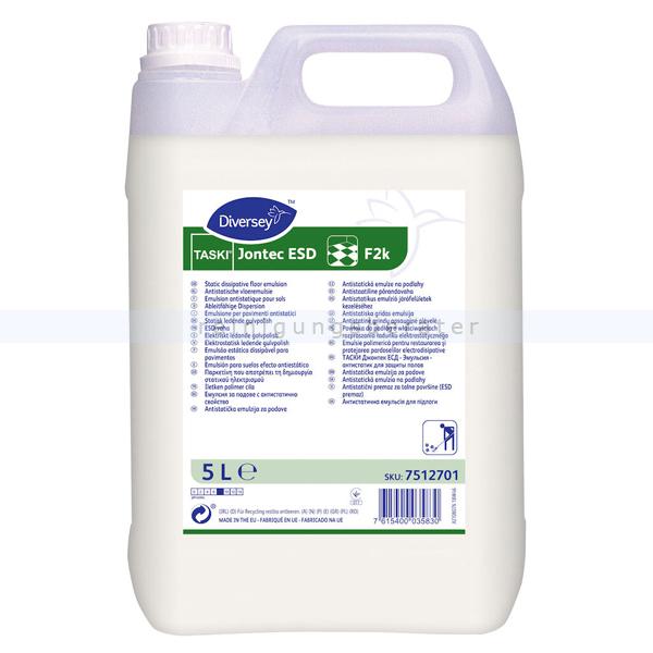 Diversey Taski Jontec ESD F2k 5 L leitfähige Dispersion, hochglänzend 7512701