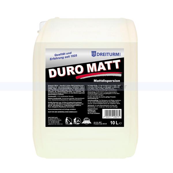 Bodenbeschichtung Dreiturm Duro Matt 10 L Hartbeschichtung mit Mattglanz 4627