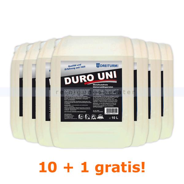 Dreiturm Duro Uni 11 x 10 L Sonderaktion Sie erhalten 11 Kanister, zum Preis von 10 Kanistern 4625