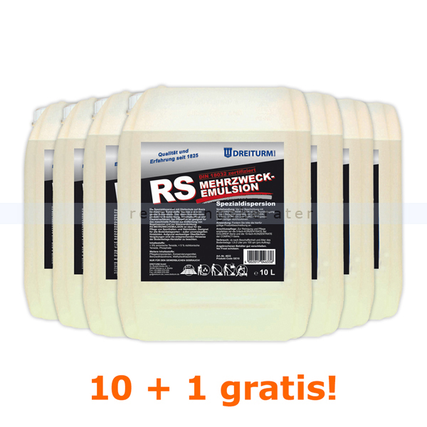 Dreiturm RS 11 x 10 L Sonderaktion Sie erhalten 11 Kanister, zum Preis von 10 Kanistern 4633