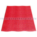 Bodenmatte Miltex Yoga Soft Step® rot 60 x 90 cm
