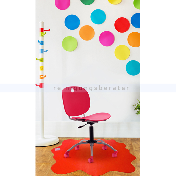 floortex fr124040prv cleartex sploshmat rot 100 x 100 cm. Black Bedroom Furniture Sets. Home Design Ideas
