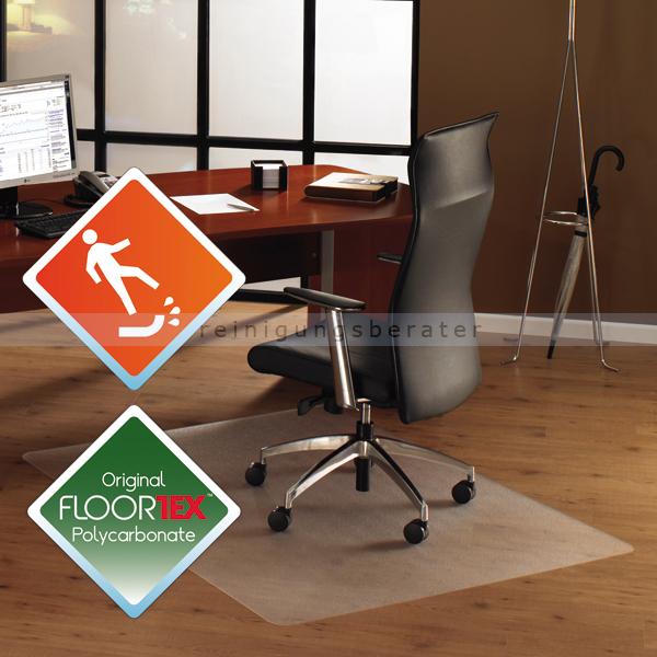 Floortex FC1212020ERA Cleartex unomat 120x120 cm Anti-Rutsch Matte für polierte Böden und Teppichfliesen